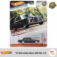 Hot Wheels Car Culture 72 Mercedes Benz 280 SEL 4.5 Modern Classics