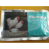 THERAPY 100 GR BOX ISI 10 obat ayam unggas crd,kolera, korisa, snot