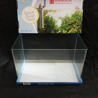 AQUARIUM KANDILA BENDING SUPER CLEAR GLASS TANK 50X26X30