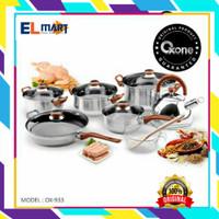 OXONE panci set stainless eco cookware 12+2pc OX-933