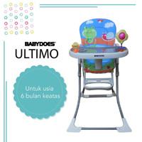 High Chair / Kursi Makan Babydoes Ultimo - Blue