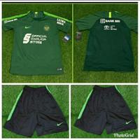 Jersey Baju Bola Training Latihan Timnas Indonesia Nike Hijau 2020 GO