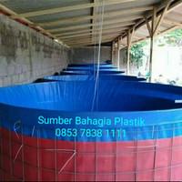 kolam terpal A12 Bioflok D. 2 T. 1