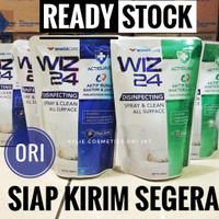 Wiz 24 Disinfectant Spray Refill 400 ml Desinfektan Cair Wiz24 Pouch
