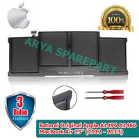 """Baterai Original Apple A1496 A1466 MacBook Air 13"""" (2012 - 2013) ORI"""