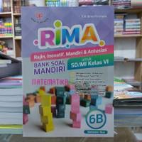 Rima Bank Soal Mandiri Matematika 6B SD/MI SMT 2