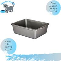 Tempat / Baskom Bak Pasir Pup Kucing Cat Litter Box Size S MURAH