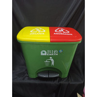 BIO Step On Dustbin - 2 x 15 ℓ / Tempat Sampah Injak