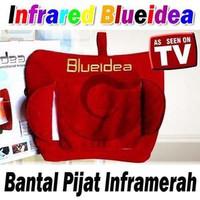 BANTAL PIJAT SHIATSU BLUE IDEA/ Bantal Pijat/ Bantal Pijet