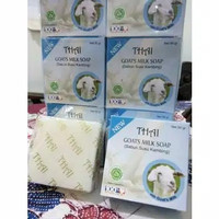 SABUN THAI GOATS GOAT MILK / RICE MILK / BENGKOANG / MUTIARA / 50 GRAM