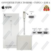 CONVERTER CABLE LIGHTNING TO HDMI DIGITAL AV CHARGE 4K ORIGINAL APPLE