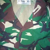 baju PDL TNI Sritex 2020 size K3