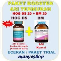 Paket Booster Asi TERMURAH ! BLACKMORES & HERBS OF GOLD PAKET ISI 20