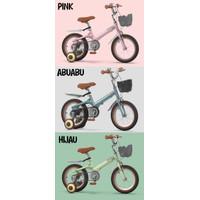 Sepeda Anak PHOENIX Vintage 16 dan 18 Inch Pink [READY STOCK] - Hijau, 16 Inch