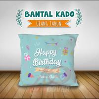 BANTAL KADO ULANG TAHUN ANAK / PACAR / TEMEN CUSTOM