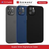 ASENARU iPhone 12 Pro /12 Pro Max Casing - Super Slim Signature Case