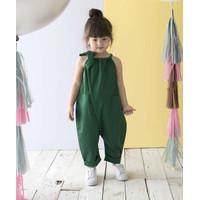Piccola Heidi Jumpsuit Pita Emerald Green