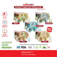 Babiesfirst Bamboo Fiber Kids Feeding Set / Peralatan Makan Bayi