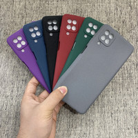 Case Samsung Galaxy A12 2020 SandStone Original Soft Case Silicone