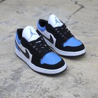 Sepatu Sneakers Pria Nike Air Jordan 1 Low Blue Obsidian