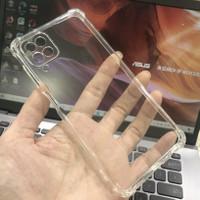 Case Samsung Galaxy A12 Jelly Case Bening Transparan Anti Crack