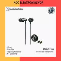 EARPHONE HEADSET AUDIO TECHNICA ATH-CLR100 BK STEREO