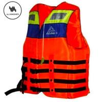 Baju Pelampung Atunas / Life Jacket / Rompi Pelampung Tali Biru