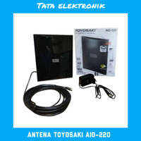Antena TV Toyosaki Aio - 220 Digital/Analog Luar & Dalam