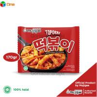 Mujigae Topokki Tteokbokki Instan Tokpoki Topoki Makanan Korea Instan