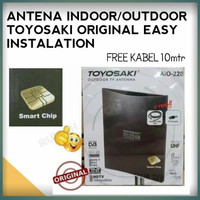 antena digital indoor outdoor, antena toyosaki AIO 220 ori