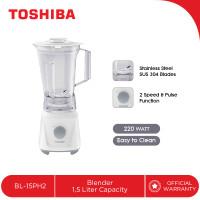 TOSHIBA Blender Plastik 1,5Liter BL-15PH2 - Mata Pisau Stainless Steel