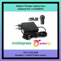 Adaptor Charger Laptop Asus Zenbook Pro 14 UX480FD 19V 3.42A 65W