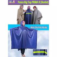 Mantel hujan jas hujan model ponco size besar BIG TOP PRIMA GAJAH