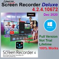 Cyberlink Screen Recorder Deluxe - Full Version