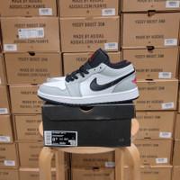 Nike Air Jordan 1 Low Light Smoke Grey BNIB PK GOD - 40