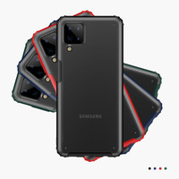 Case Samsung Galaxy A12 Fuze Frosted Anti Crack Baby Skin Casing