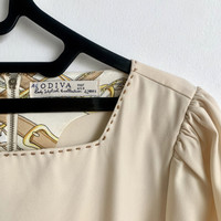 Preloved Baju Atasan Blus Odiva Big Jumbo Plus Size