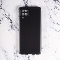 Case Samsung Galaxy A12 Softcase Slim Matte Pelindung Kamera