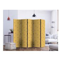 Sketsel Room Divider Pembatas Ruangan Partisi Lipat - Sunny Dandelion