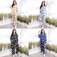 Setelan Baju Tidur Piyama Tie Die Dye Kaos Wanita Tangan Panjang Jumbo