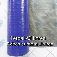 terpal A3 korea bebas custom
