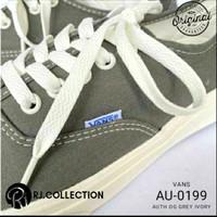 sepatu vans authentic original OG GREY/WHITE