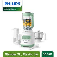 Blender Plastik Philips HR2223 2 Liter 350 Watt HR-2223
