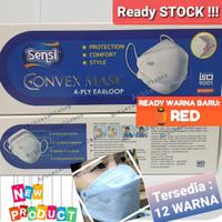 Masker SENSI Mask Convex 4 Ply Earloop isi 20 pcs bukan Duckbill