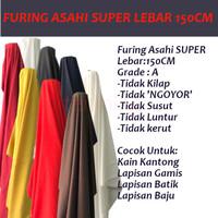 Kain Furing Asahi Super LEBAR 150 Cm HALUS Meteran Murah