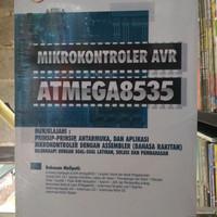 Buku Mikrokontroler AVR ATMEGA8535 (dengan assembler) + CD