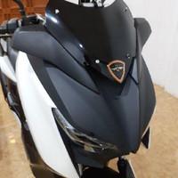 Visor windshield yamaha xmax sporty variasi xmax aksesoris yamaha xmax - Black