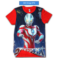 Kaos Anak Ultraman Series Baju Anak Ultraman Keren dan Trendy #reg-076