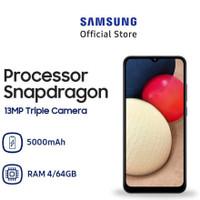 Samsung Galaxy A02S 3/32 & 4/64 GB Garansi Resmi SEIN Samsung A02S
