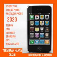 Iphone 3GS Nostalgia Apple Termurah Resmi Ibox Imei Terdaftar Normal